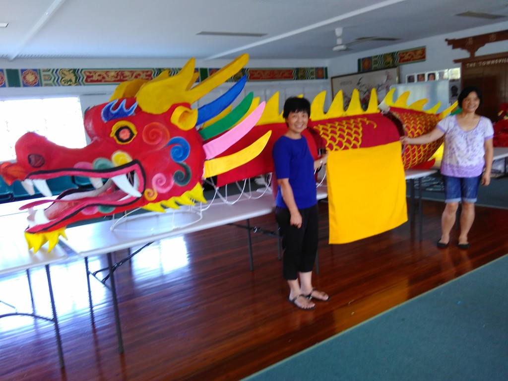 TTCCI artists Fanny Wong and Holly Horne