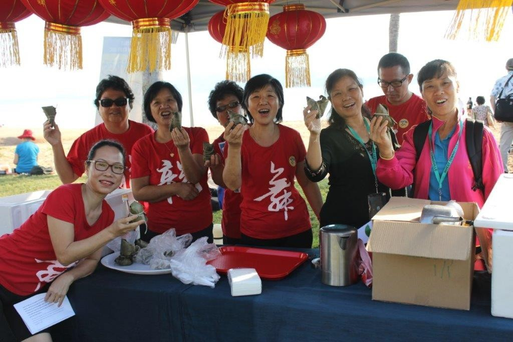 Team selling Zongzi