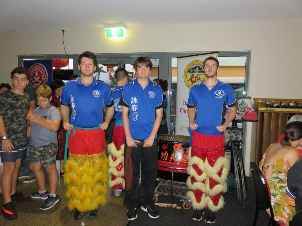 Lion Dancing Team of Townsville Kungfu Academy