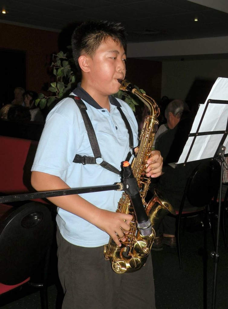 Saxophone Player Andi Zhao