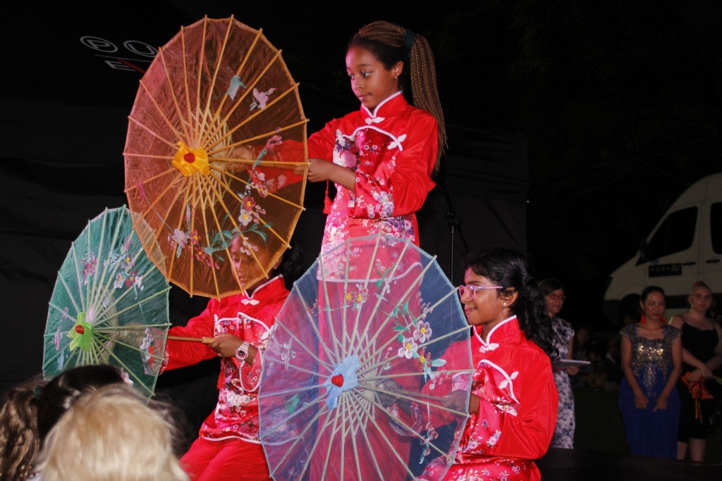 Fan Dancing - Peach Blossom by Annandale Christian College